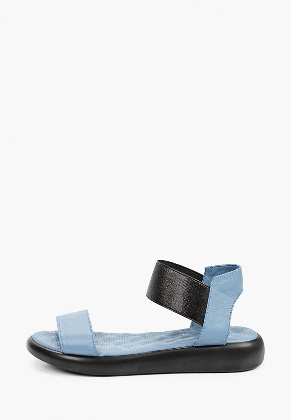 женские сандалии marco bonne', синие