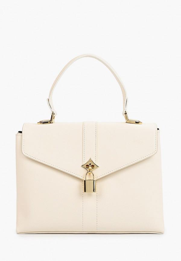 женская сумка через плечо снежная королева, белая