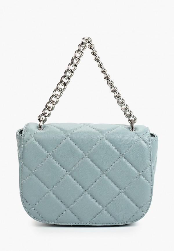 женская сумка с ручками снежная королева, голубая