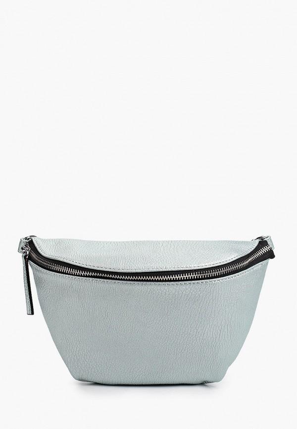женская поясные сумка снежная королева, бирюзовая