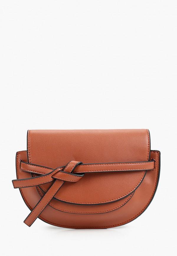 женская поясные сумка снежная королева, коричневая