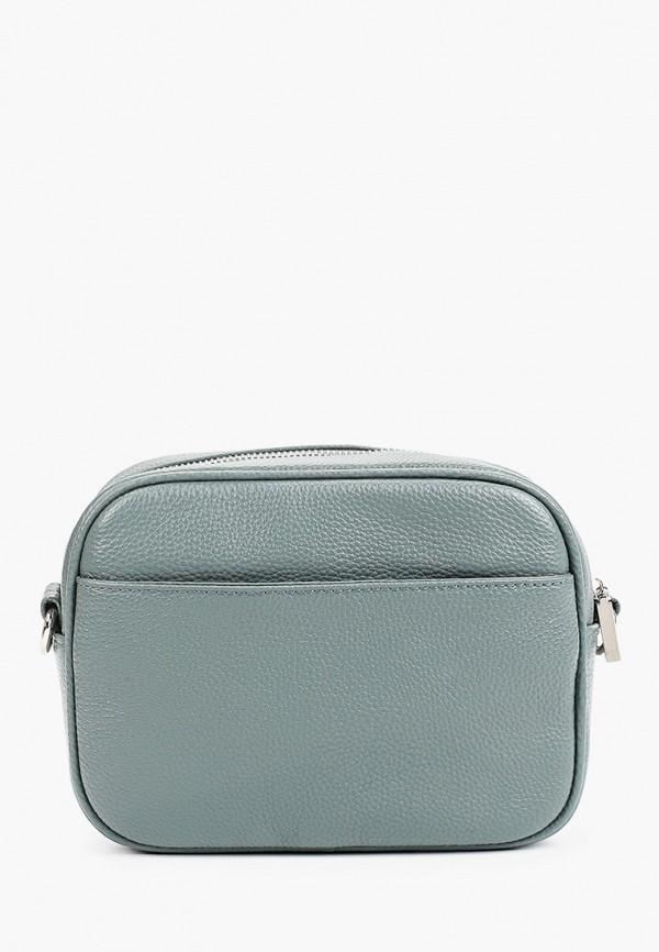 женская сумка через плечо снежная королева, зеленая
