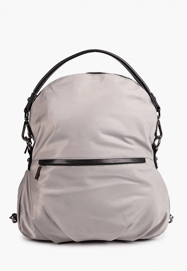 женский рюкзак снежная королева, серый