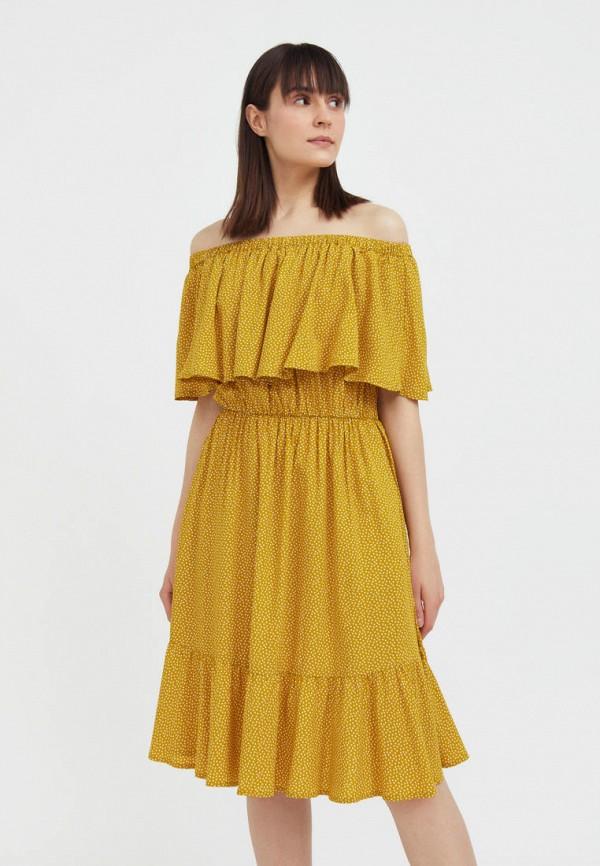 Платье Finn Flare оранжевого цвета