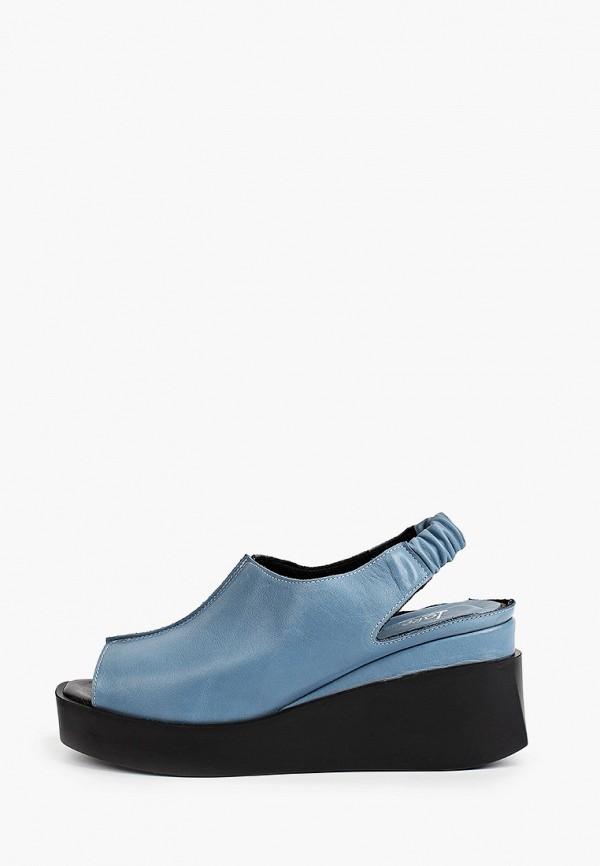 женские босоножки laremo, синие