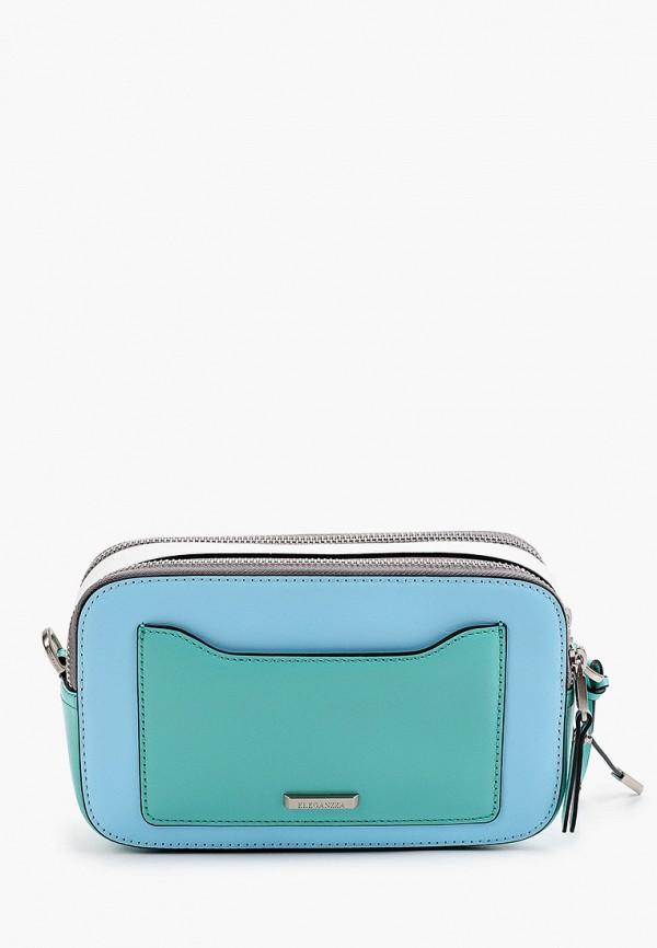 женская сумка через плечо eleganzza, разноцветная