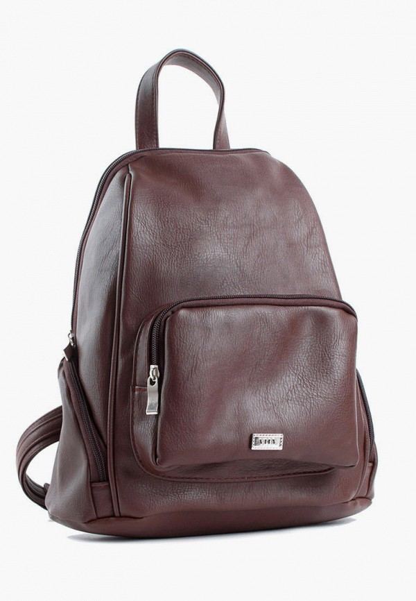 женский рюкзак vita, коричневый
