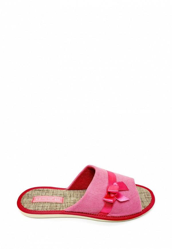 женские тапочки belsta, розовые