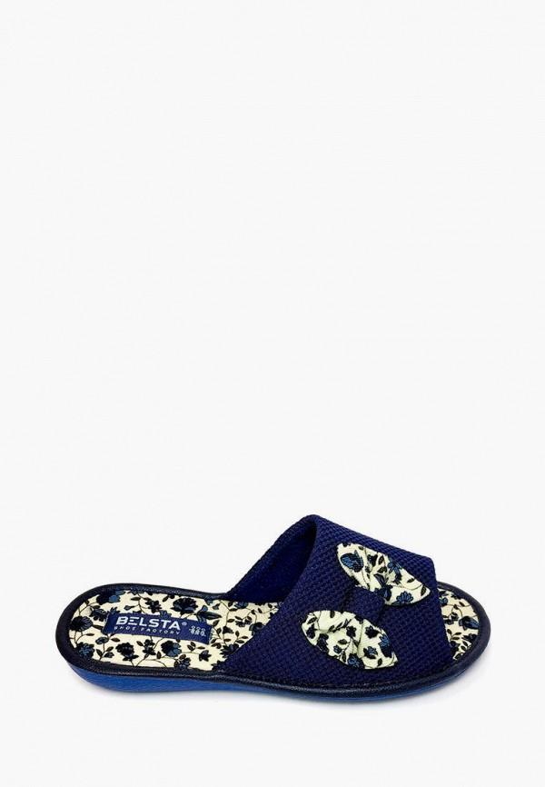 женские тапочки belsta, синие