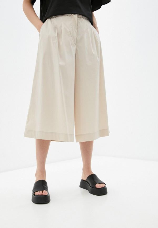 женские брюки кюлоты baon, бежевые