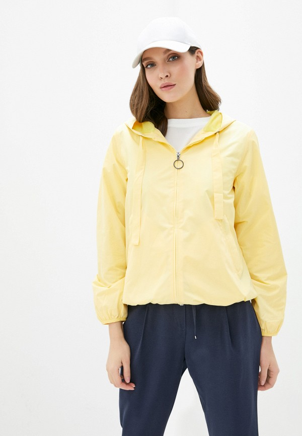 женская ветровка baon, желтая
