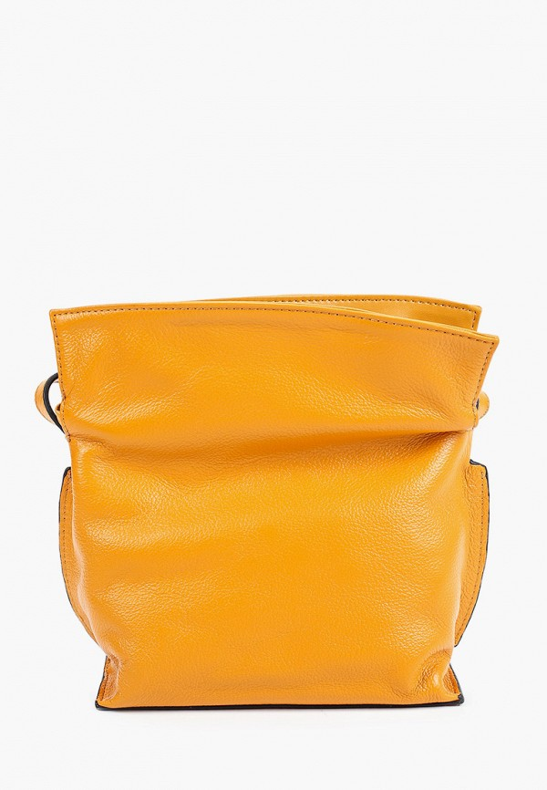 женская сумка через плечо basconi, желтая