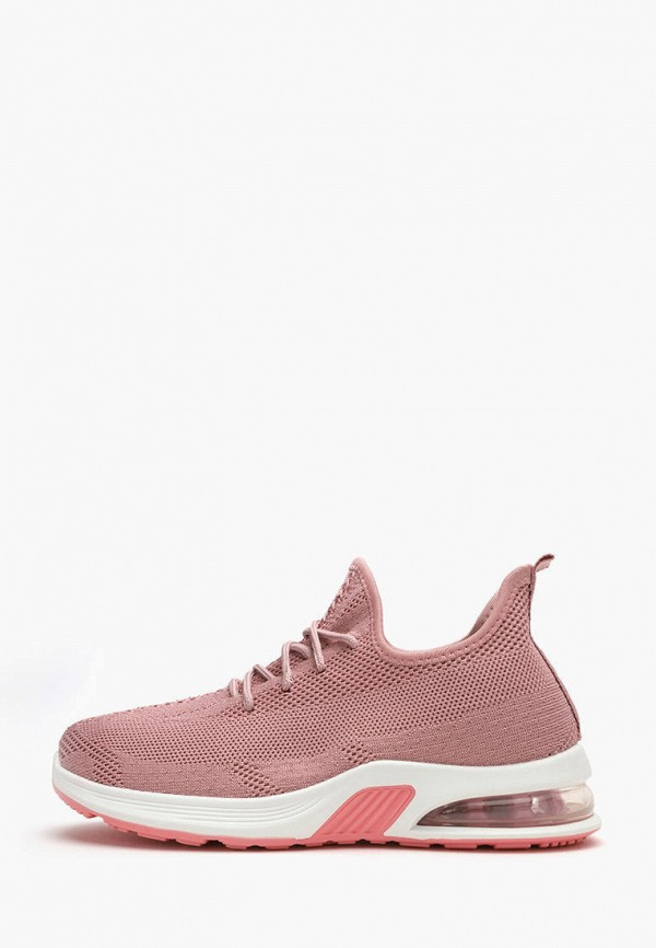 женские низкие кроссовки moon river, розовые