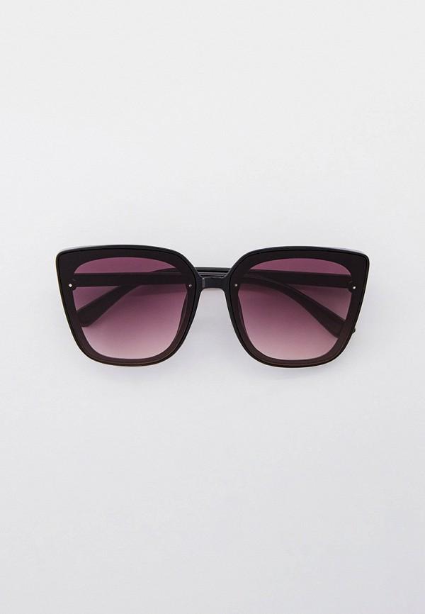 женские квадратные солнцезащитные очки kellis, фиолетовые