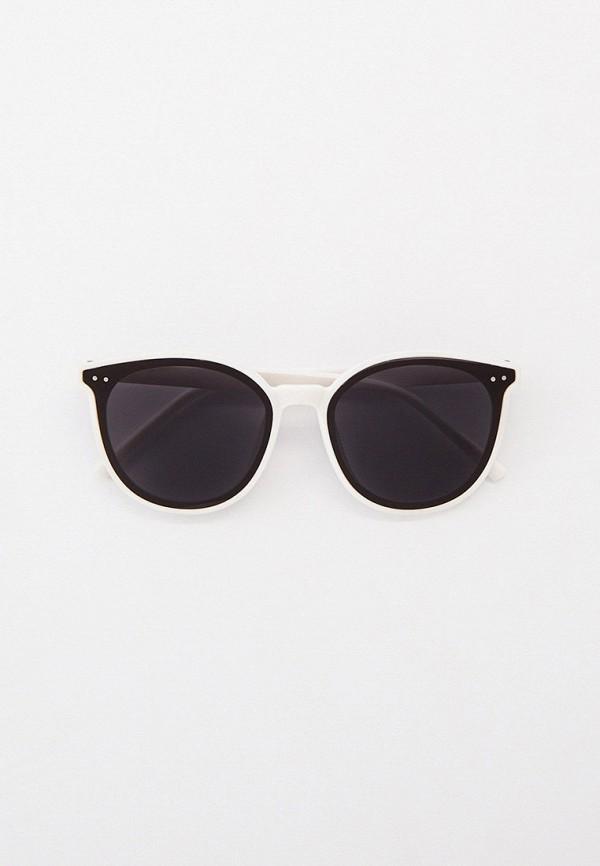 женские круглые солнцезащитные очки kellis, белые