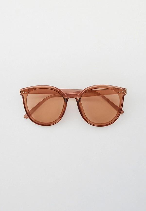 женские солнцезащитные очки кошачьи глаза kellis, коричневые