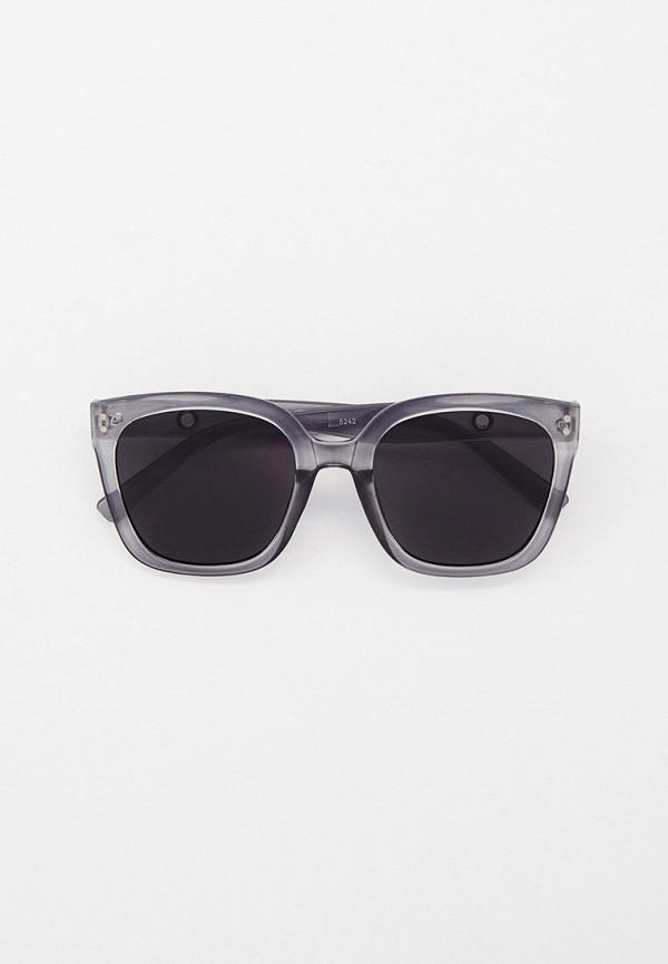 женские квадратные солнцезащитные очки kellis, серые