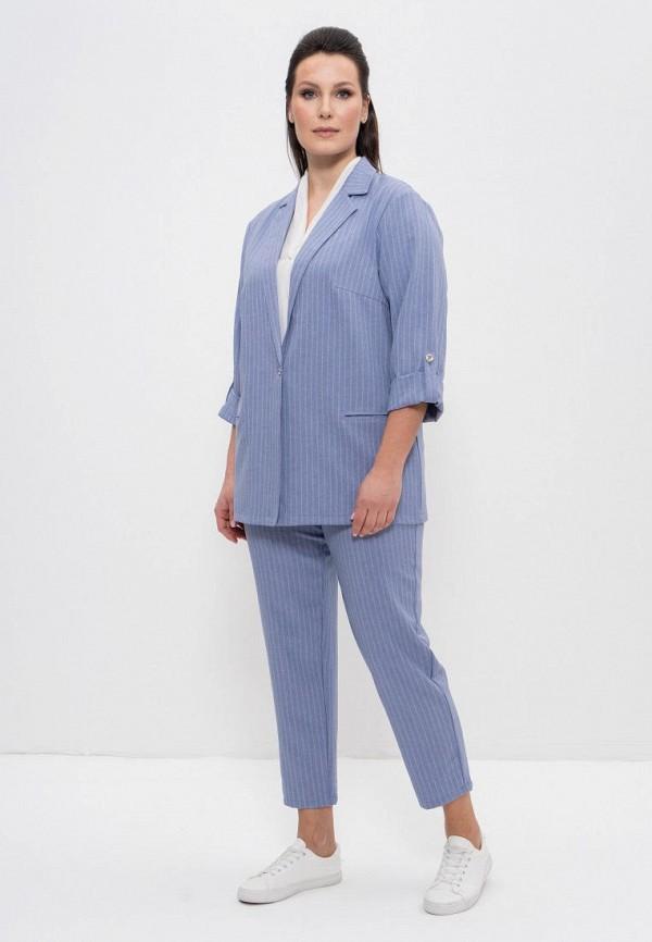 женский костюм cleo, голубой