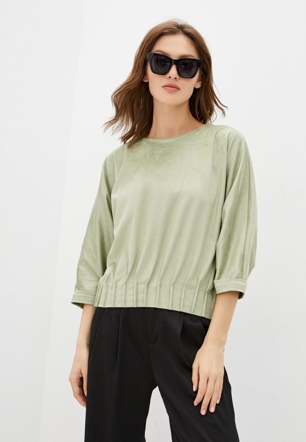 Блуза Grafinia зеленого цвета