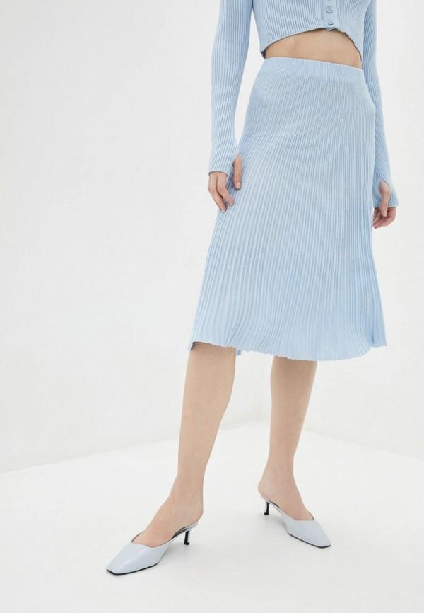 женская юбка sewel, голубая