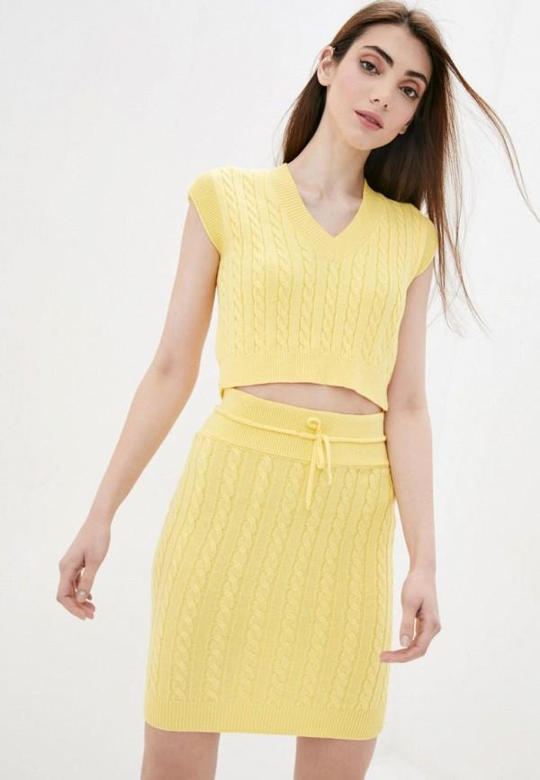 женский костюм sewel, желтый