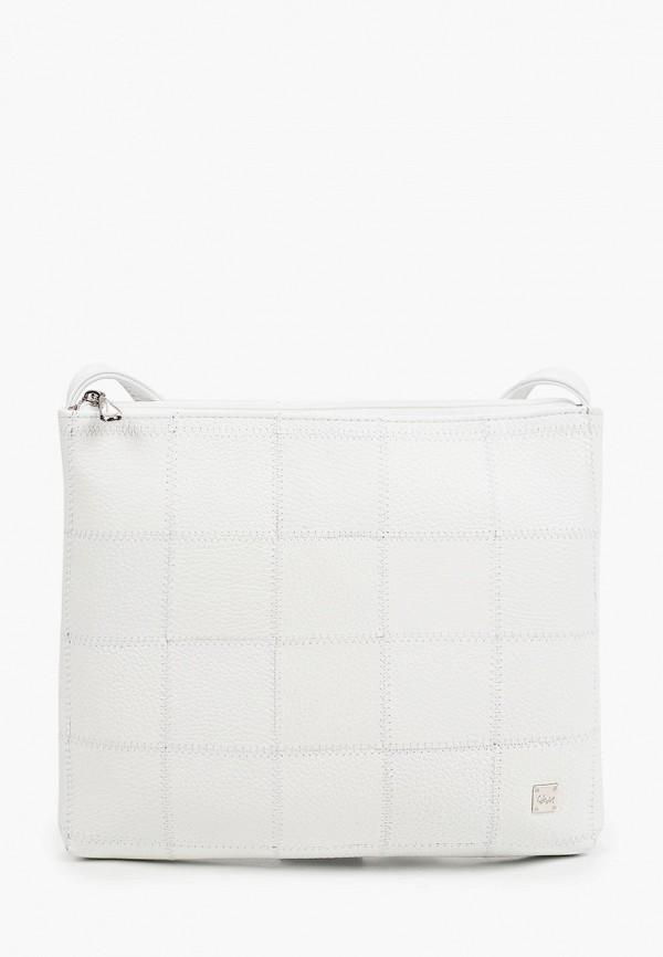 женская сумка через плечо franchesco mariscotti, белая