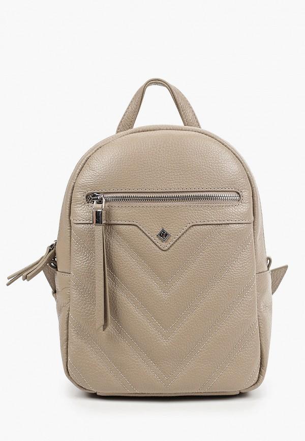 женский рюкзак franchesco mariscotti, бежевый