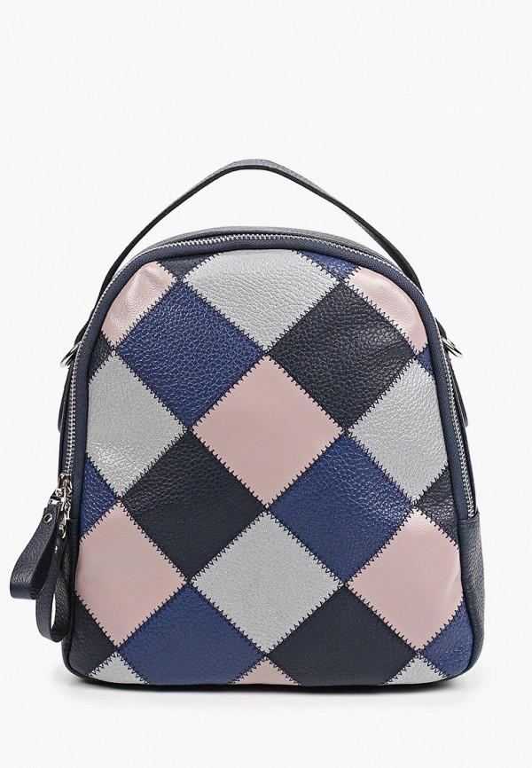 женский рюкзак franchesco mariscotti, разноцветный