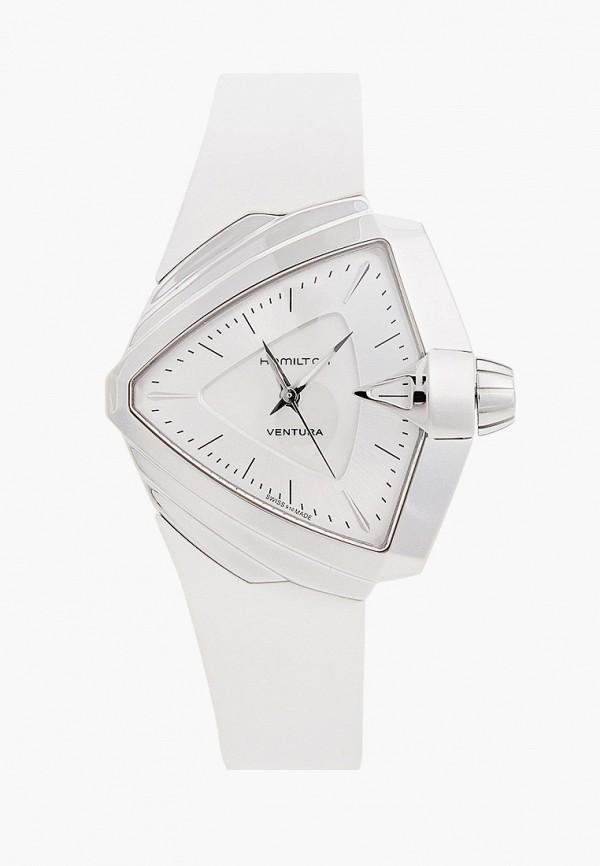 женские часы hamilton, белые