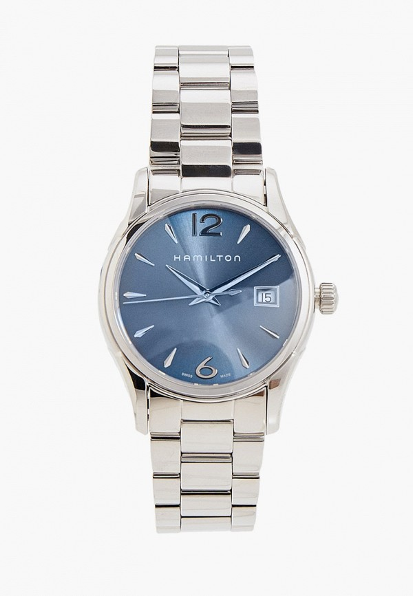 женские часы hamilton, серебряные