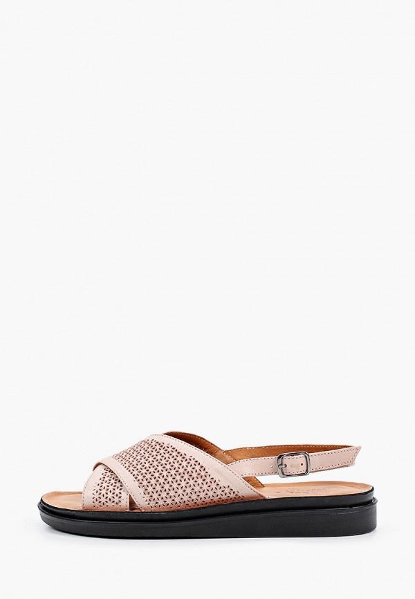 женские сандалии ascalini, розовые