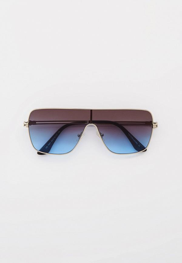 женские солнцезащитные очки pur pur, серебряные