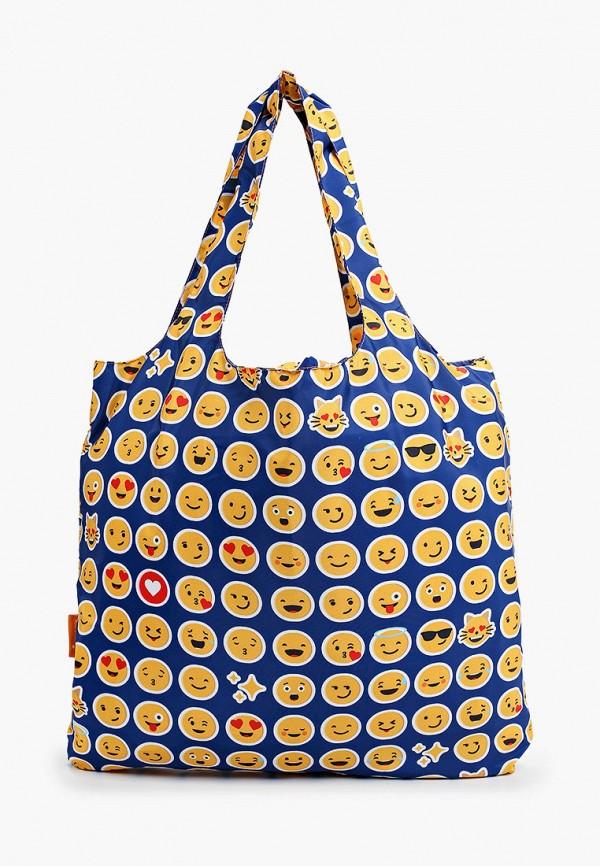 женская сумка-шоперы routemark, синяя