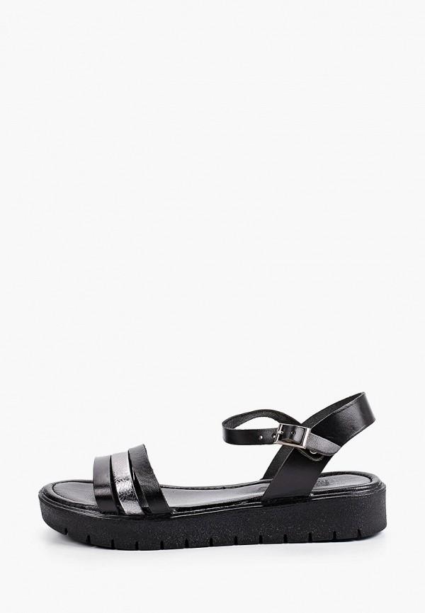 женские сандалии shoiberg, черные