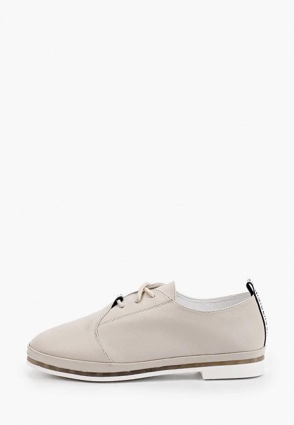 женские низкие ботинки shoiberg, серые