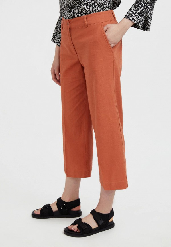 Брюки Finn Flare оранжевого цвета