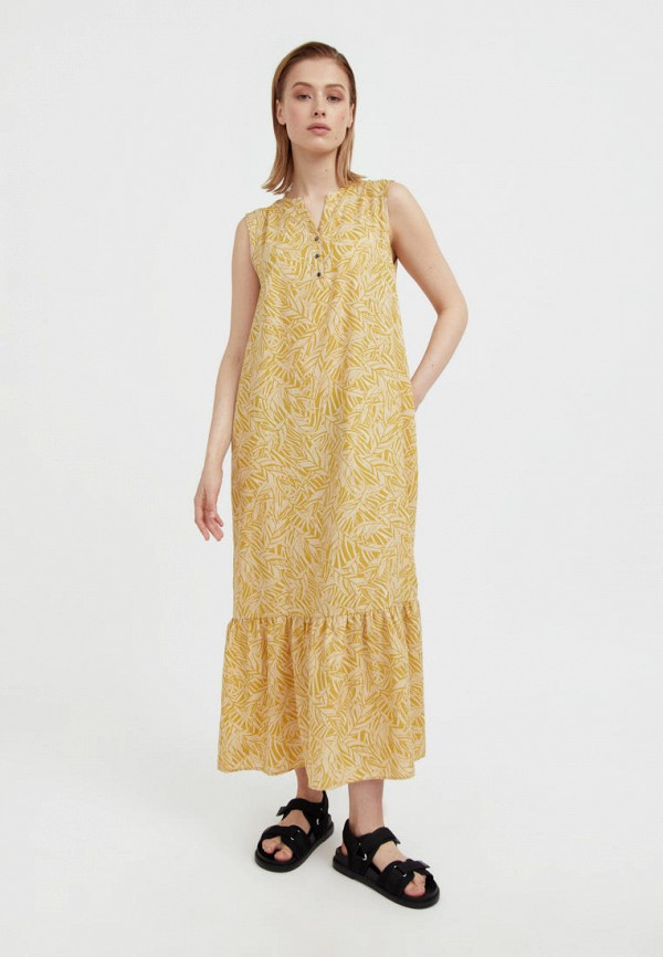 Сарафан Finn Flare желтого цвета