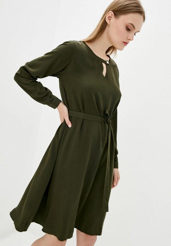 женское повседневные платье garne, хаки