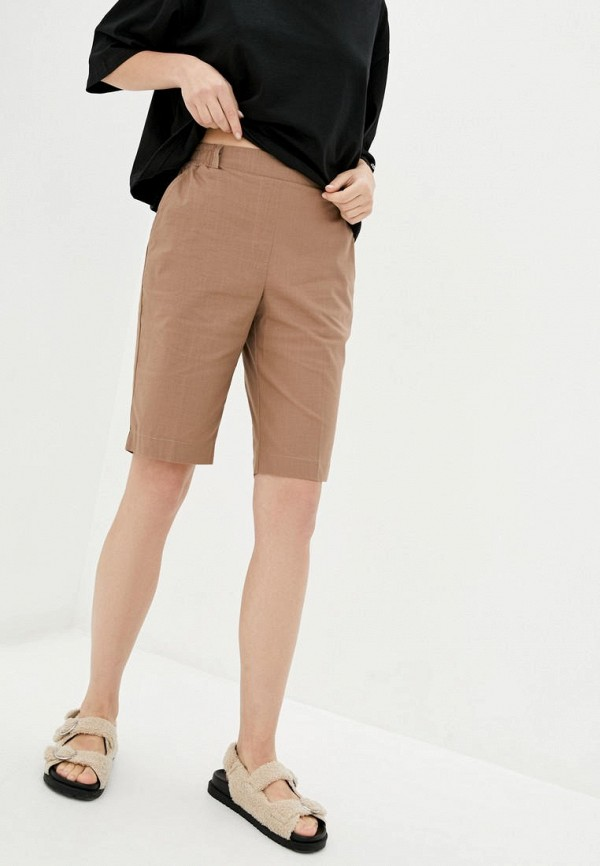 женские повседневные шорты garne, коричневые