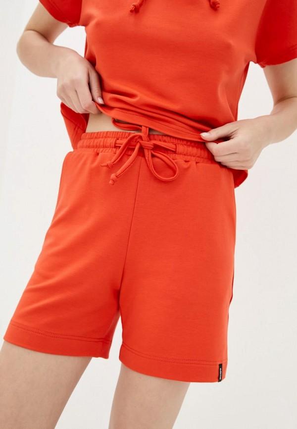женские повседневные шорты garne, красные