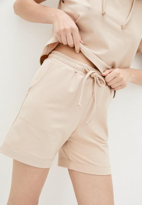 женские повседневные шорты garne, бежевые