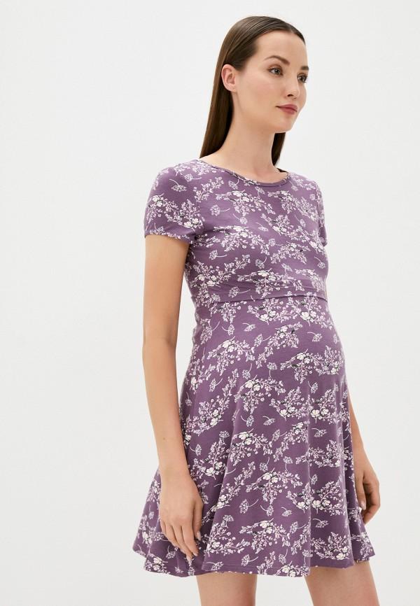 женское платье-футболки fest, фиолетовое