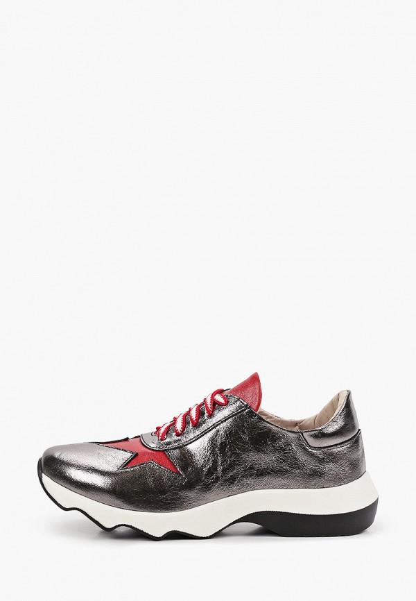 женские низкие кроссовки pauli, серебряные