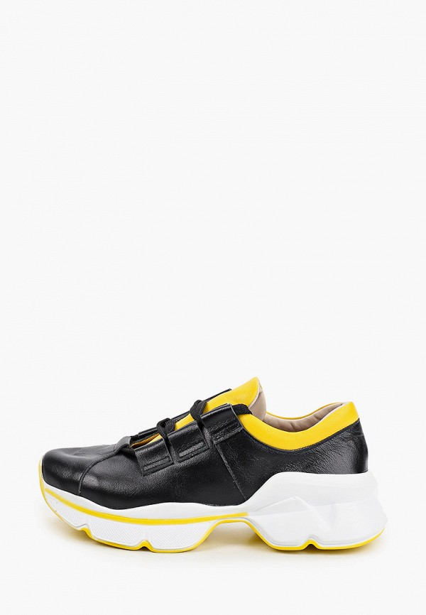 женские низкие кроссовки pauli, черные
