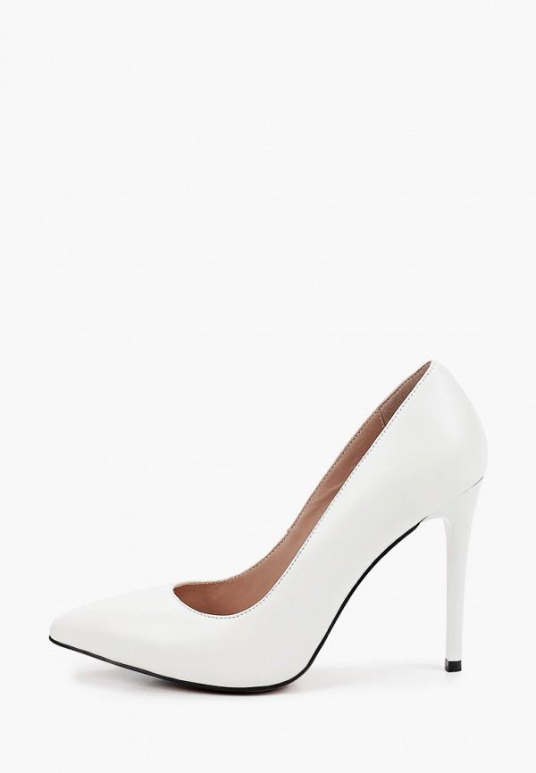 женские туфли-лодочки milana, белые