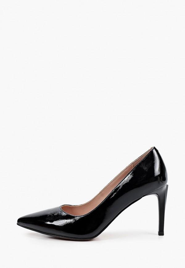 женские туфли-лодочки milana, черные