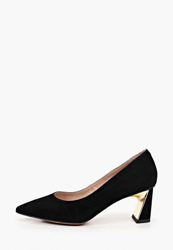 женские туфли с закрытым носом milana, черные