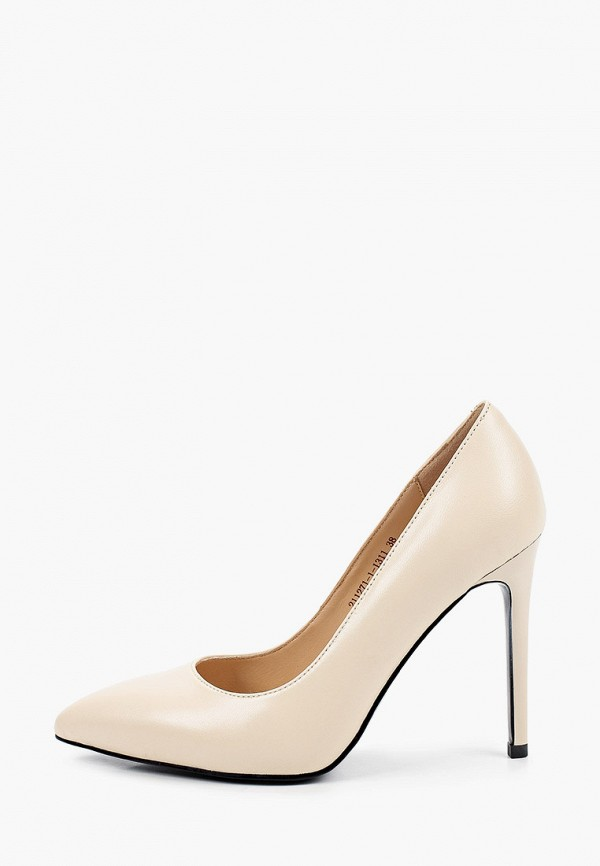 женские туфли-лодочки milana, бежевые