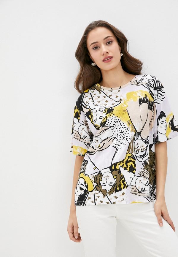 женская футболка sela, разноцветная