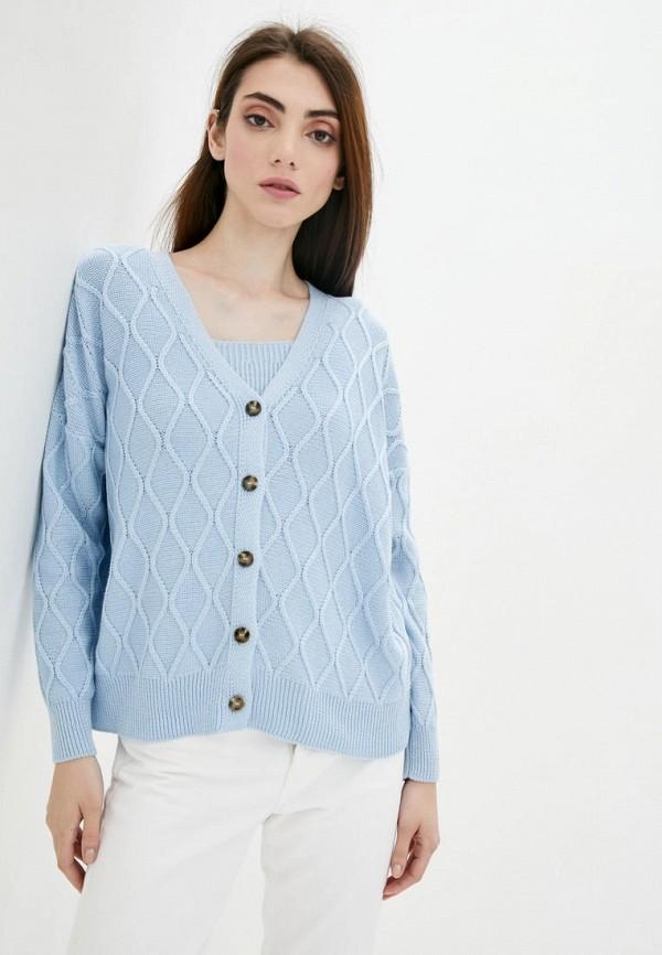 женский твинсет sewel, голубой